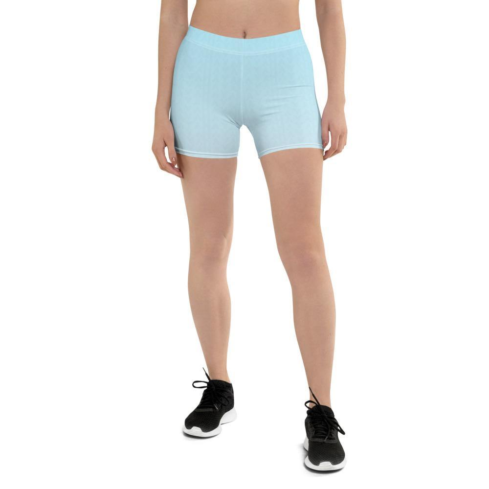 Arctic Ice Ombre Low Waist Shorts - HAVAH