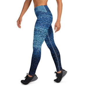 Azure High Waist Leggings