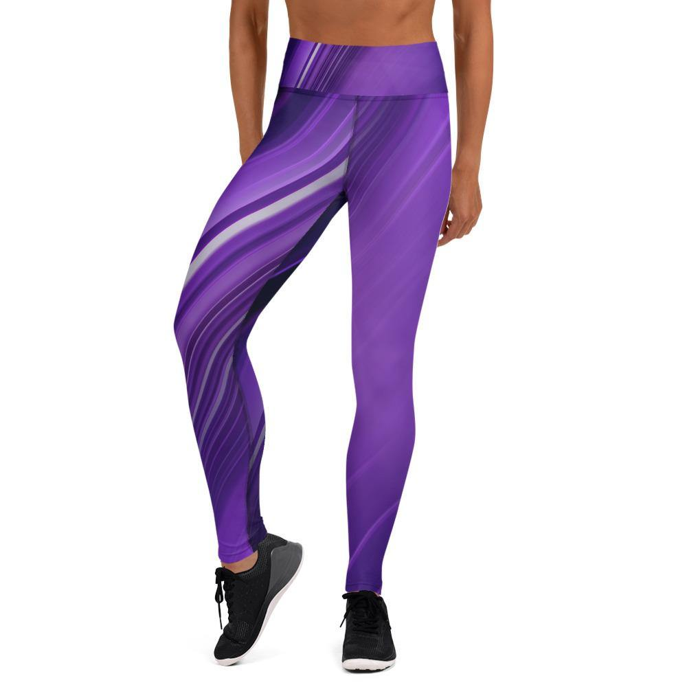 Mauve High Waist Leggings - HAVAH
