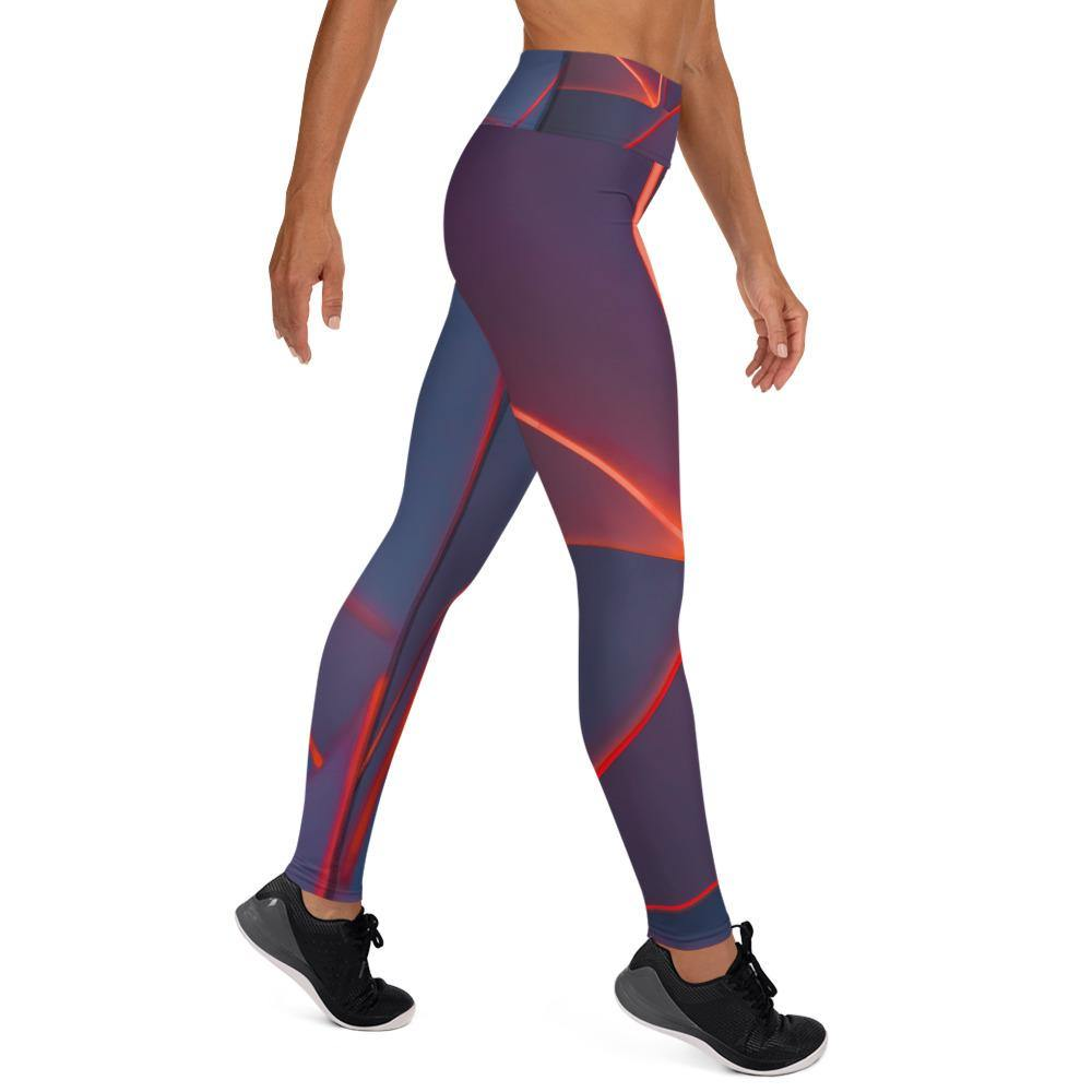 Magma High Waist Leggings - HAVAH
