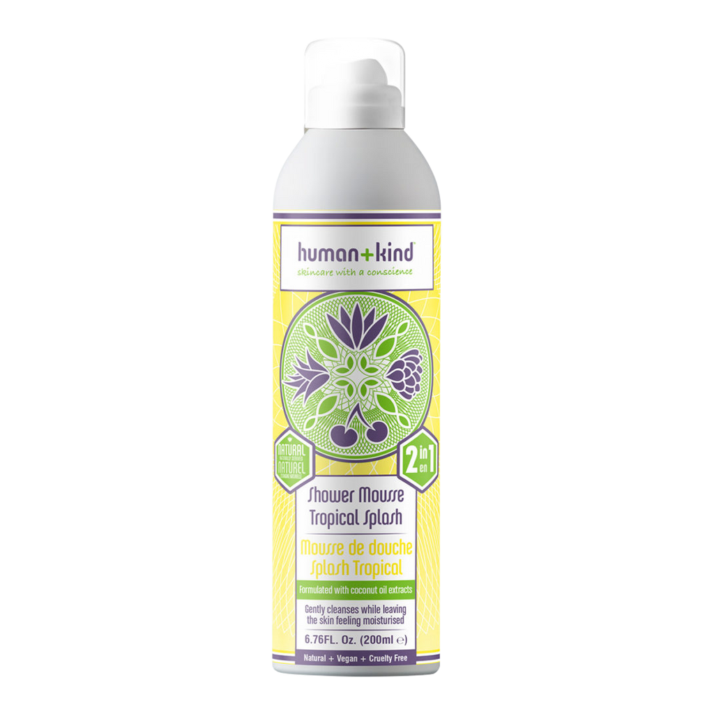 Human + Kind Shower Mousse Tropical Splash