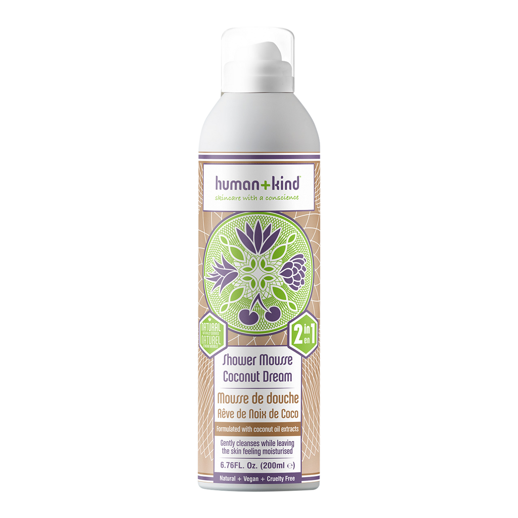 Human + Kind Shower Mousse Coconut Dream