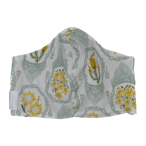 Yellow Flowers- Non Surgical Face Mask