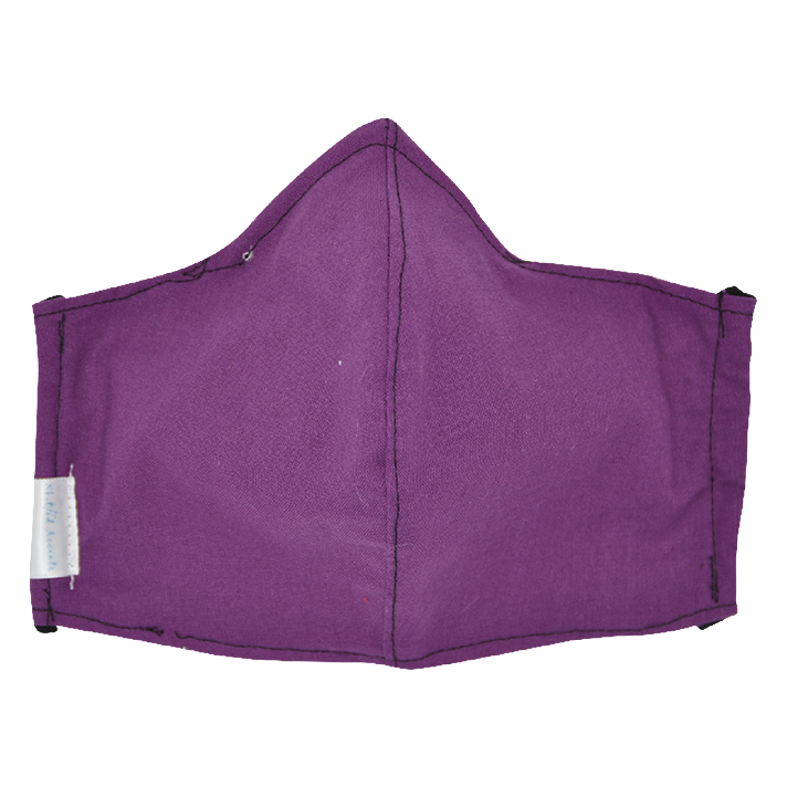 Purple- Non Surgical Face Mask