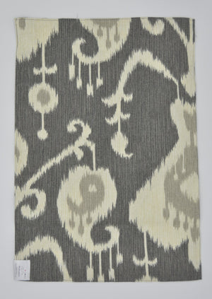 Place Mats - Paisley on grey