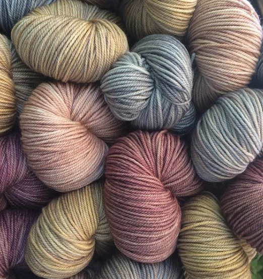 Hand Dyed Yarns DK /8Ply