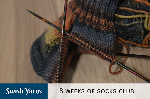 8 weeks of sock club 2021