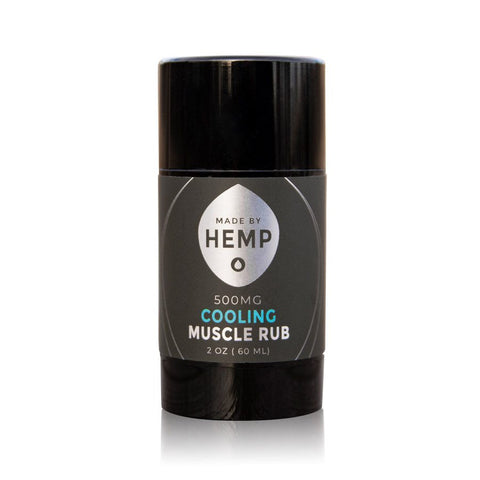Cooling Muscle Rub CBD Salve (500mg CBD)
