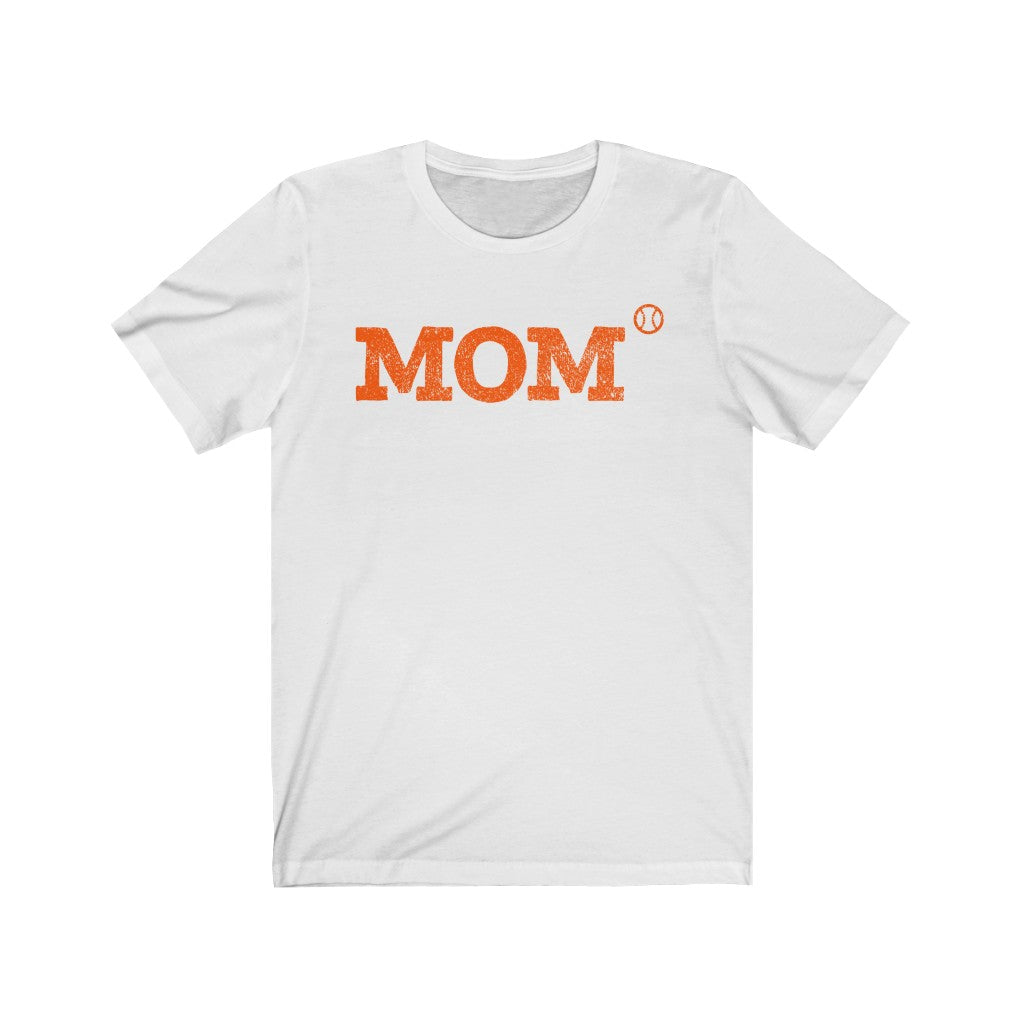 """Baseball Mom"" High School Spirit T-Shirt"