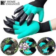 Garden Rubber Gloves Digging