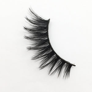 3D Unisex Celebrity Style 100% Real Faux Mink Hair Handmade High Quality Hypoallergenic Cruelty Free Comfortable False Fake Lash Extensions Strip