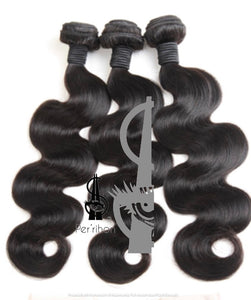 Body Wave  Raw Virgin Indian 12A Grade Human Hair Weave Bundles Extensions