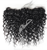 Load image into Gallery viewer, Raw Virgin Indian 12A Grade Human Hair Lace 13x4 Frontal Up to 26 Inches Extensions Straight, Curly, Wet Wavy, Body Wave, Kinky, Deep Wave, Crimped