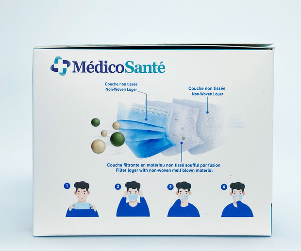 Protective Mask ASTM Level 3 by MedicoSante