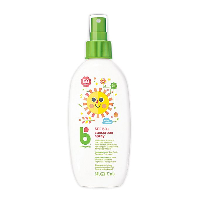 Mineral-Based Sunscreen Spray, SPF50+ , 6 fl oz (177ml)