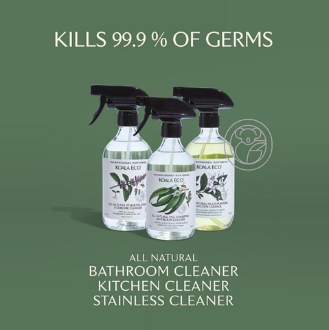 99.999% Kill Germs - Household Disinfecting Kit