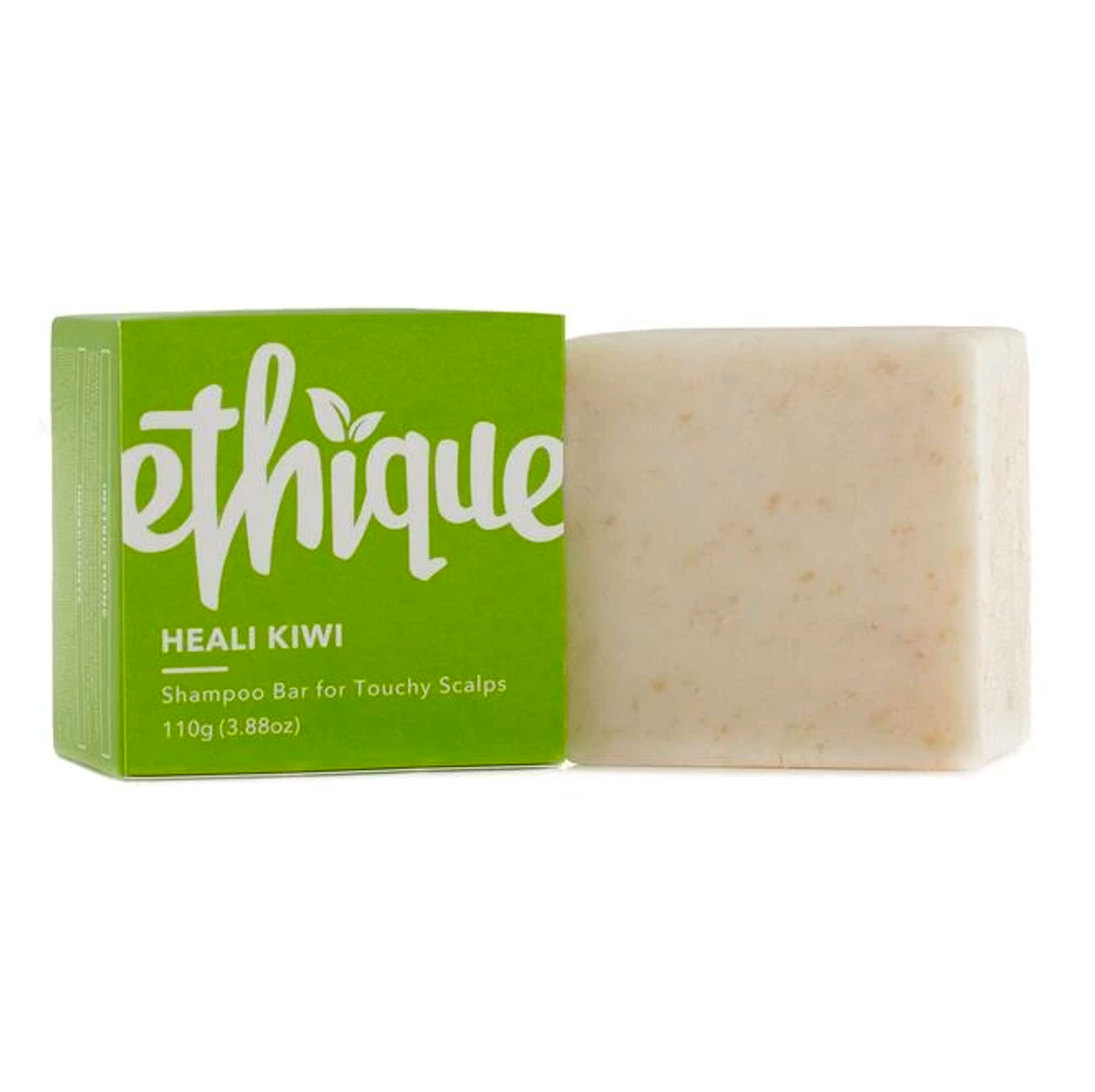Eco-Friendly Solid Shampoo Bar, Heali Kiwi, 3.88 oz (110g)