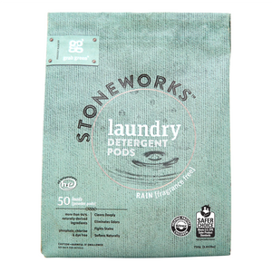 Grab Green Stoneworks Laundry Detergent Pods - Rain (50 Loads)