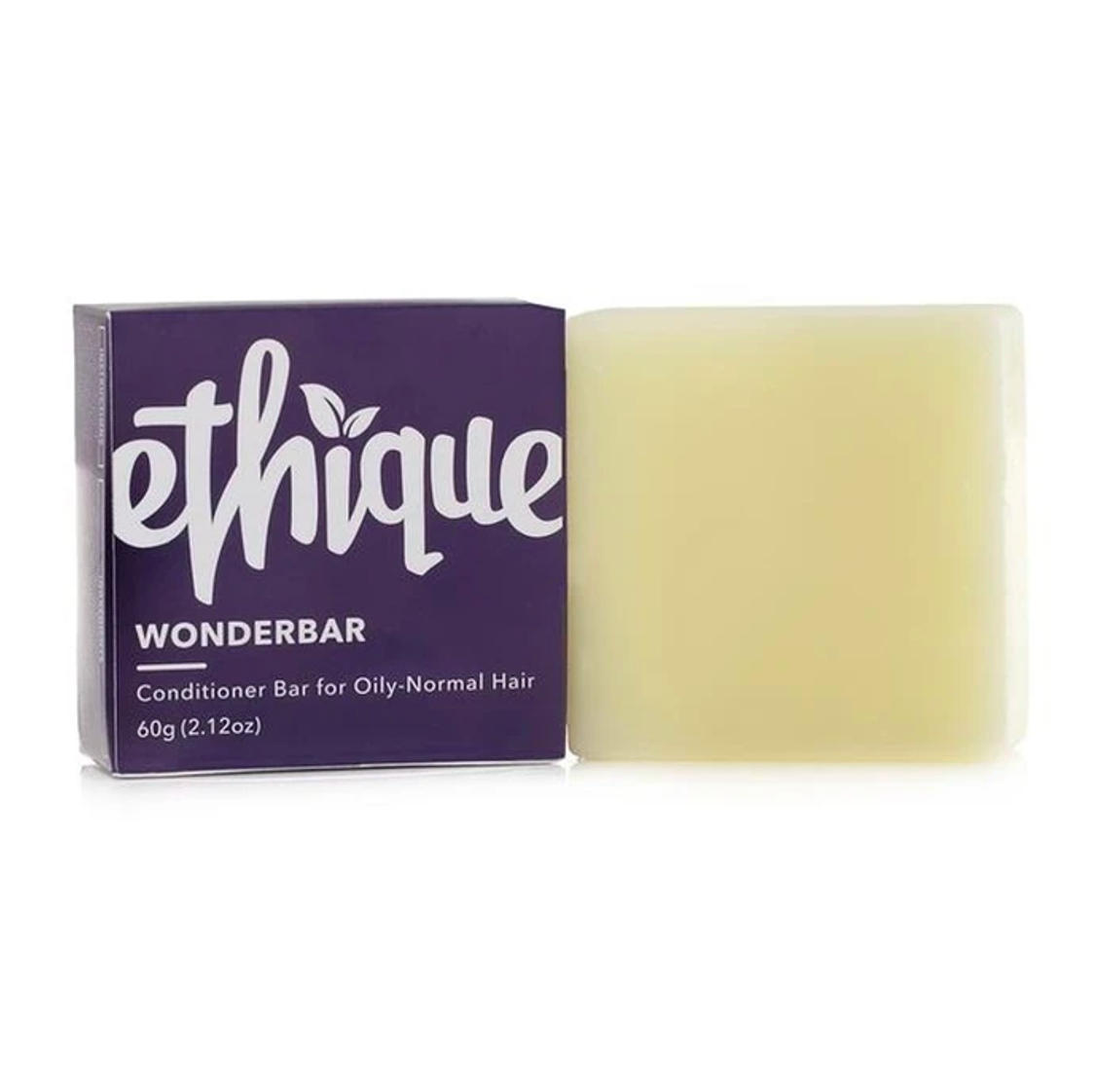 Eco-Friendly Conditioner Bar for Oily-Normal Hair, Wonderbar, 2.12 oz (60g)