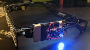 Hacker Modifies RGB Shades with Onboard Battery