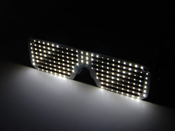 LED Matrix Shades - White
