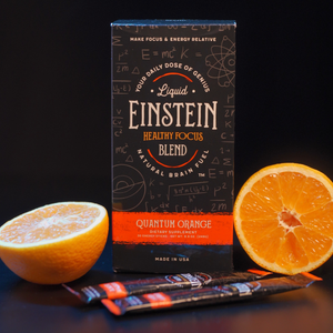 Liquid Einstein Quantum Orange Healthy Focus Blend