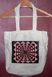 The Independent - Tote Bag, mandala pattern