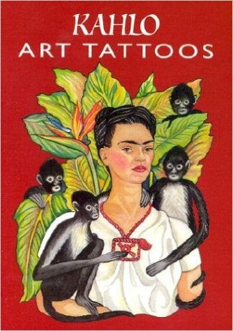 Kahlo Art Tattoo Lil' Book