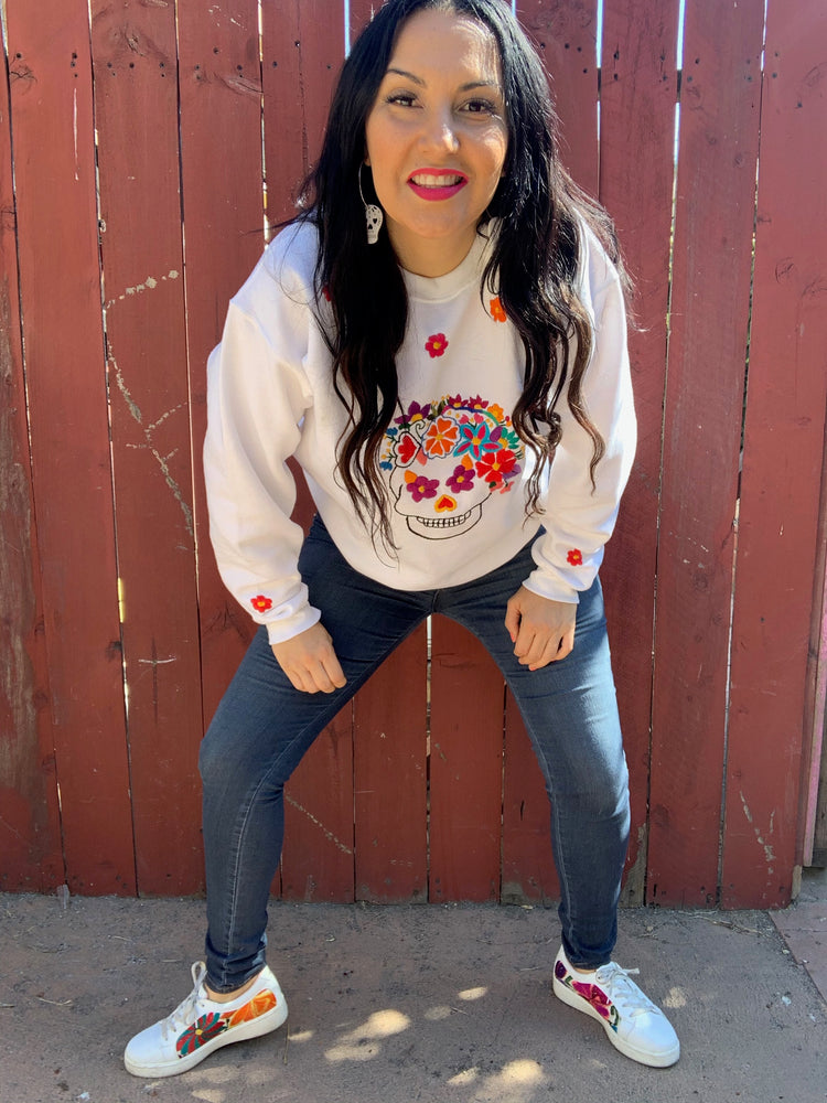 Load image into Gallery viewer, La Calaca Crewneck