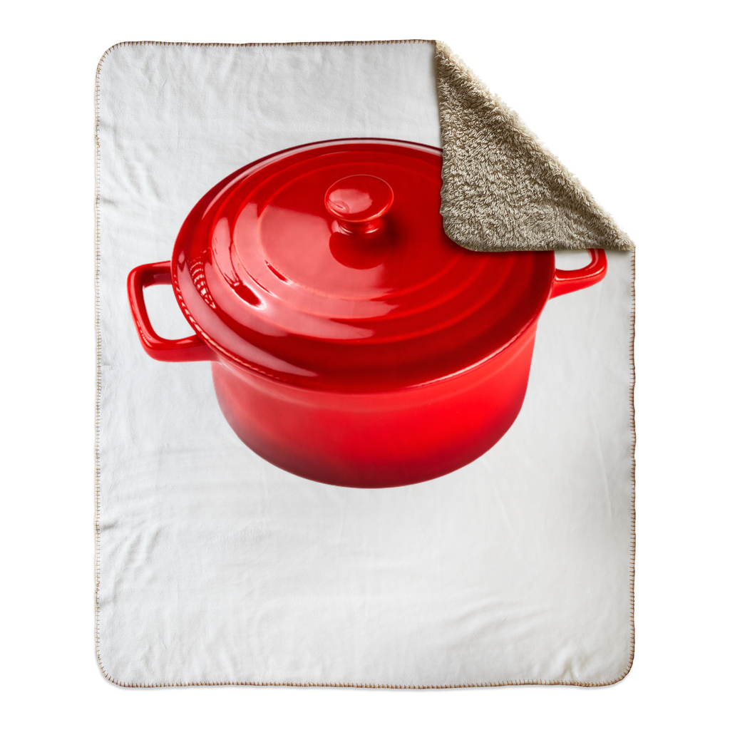 Dutch Oven - Sherpa Fleece Blanket