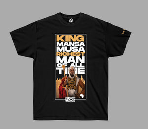 """Richest Man"" Mansa Musa Shirt"
