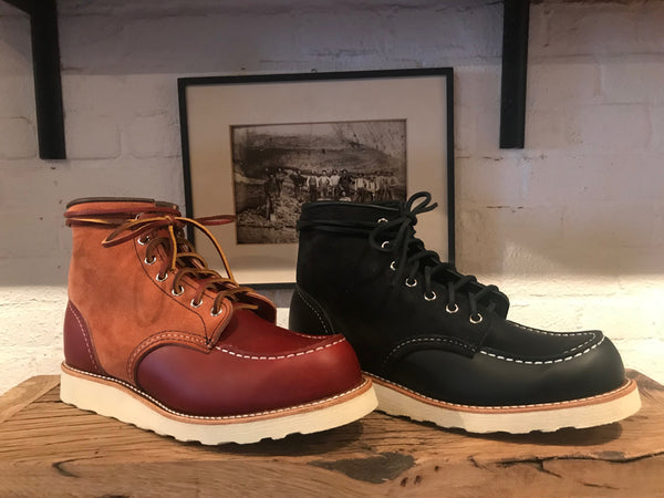 "The Red Wing 6"" Moc Toe: Limited Edition & Timeless Models"