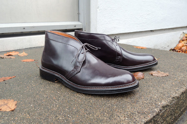 Alden Chukka Boots in Color 8 Cordovan