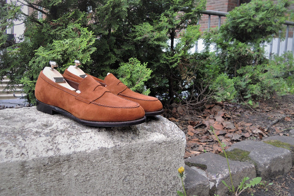 474aa2ce New Skinstitched Apron Loafers from Miyago Kogyo