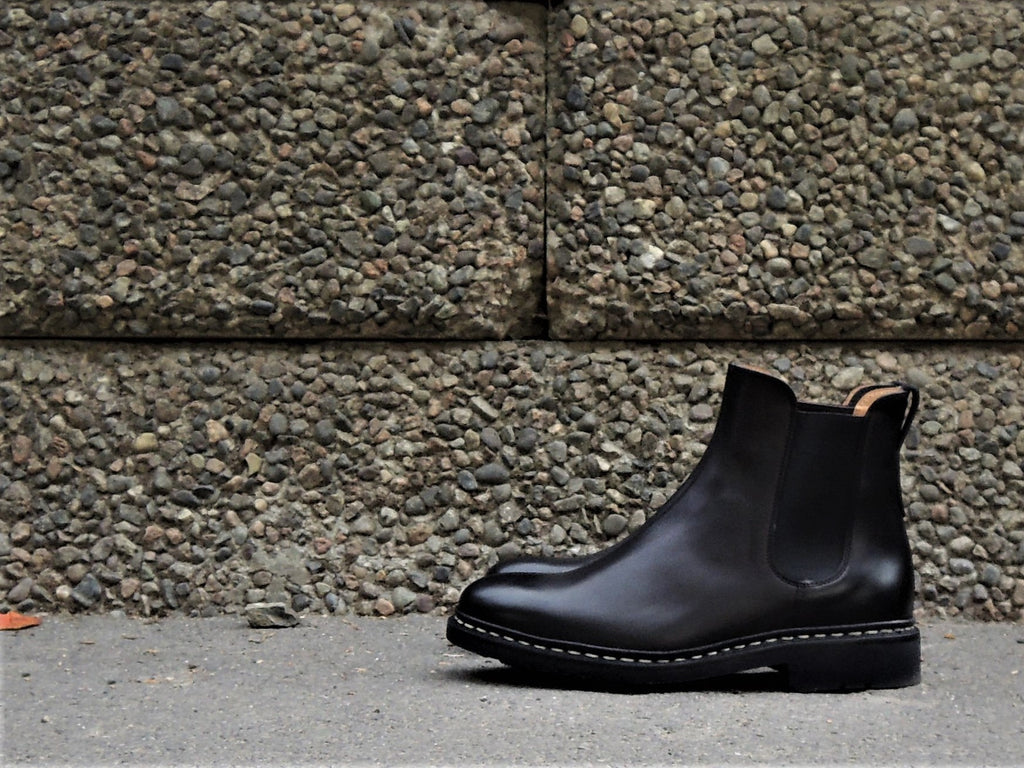 Heschung Ladies Molene Chelsea Boot Black