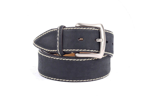 Kudu Leather Belt - Black