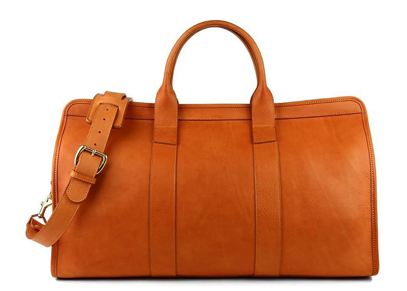 Signature Travel Duffle - Cognac