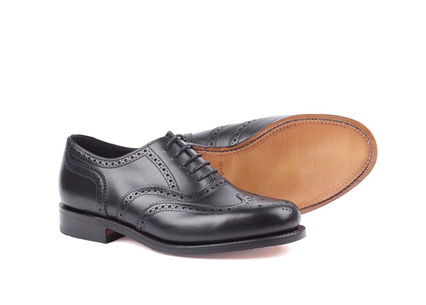 VIV Black - Calf Brogue - Derby