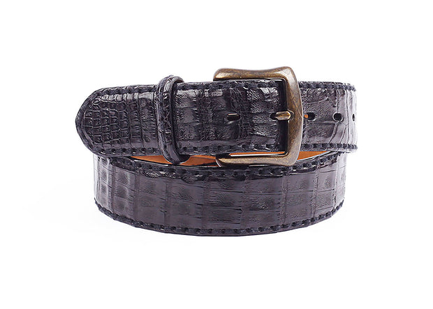 Caiman Leather Belt