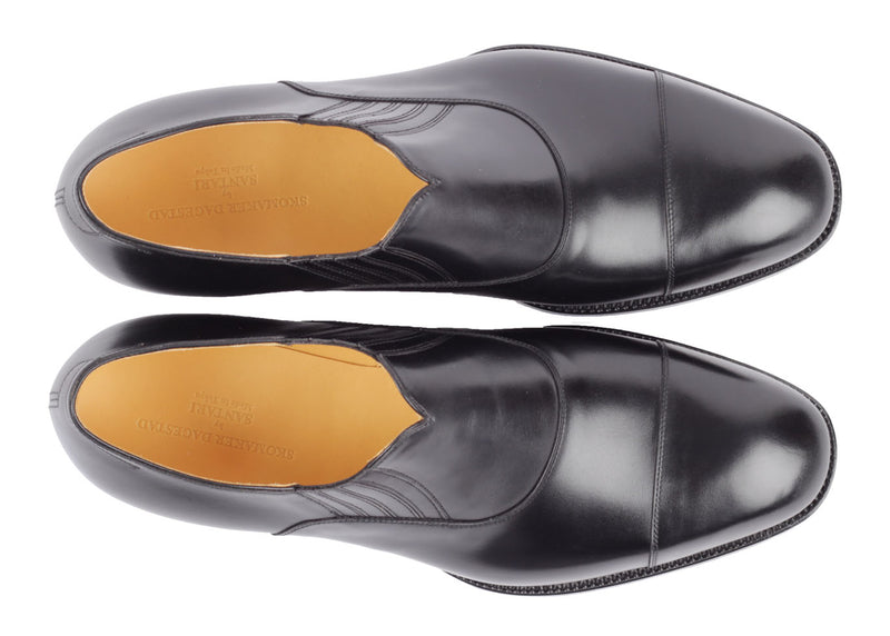Slip-on Cap Toe - Black