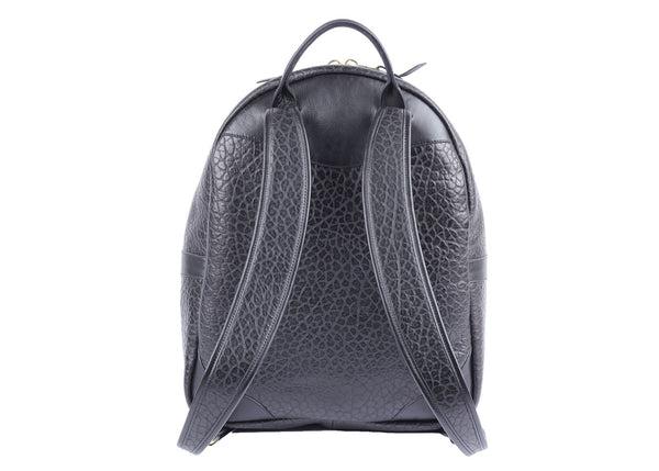 HAMPTON ZIPPER BACKPACK - Shrunken Black