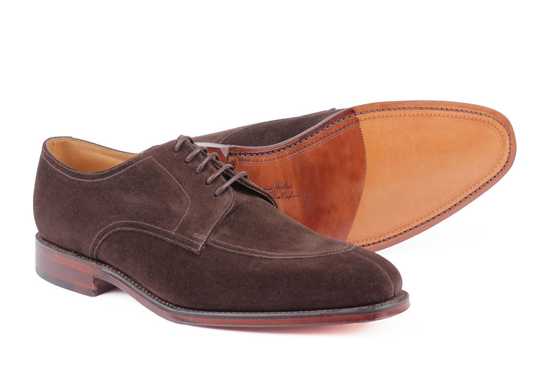 Ealing - Dark Brown Suede