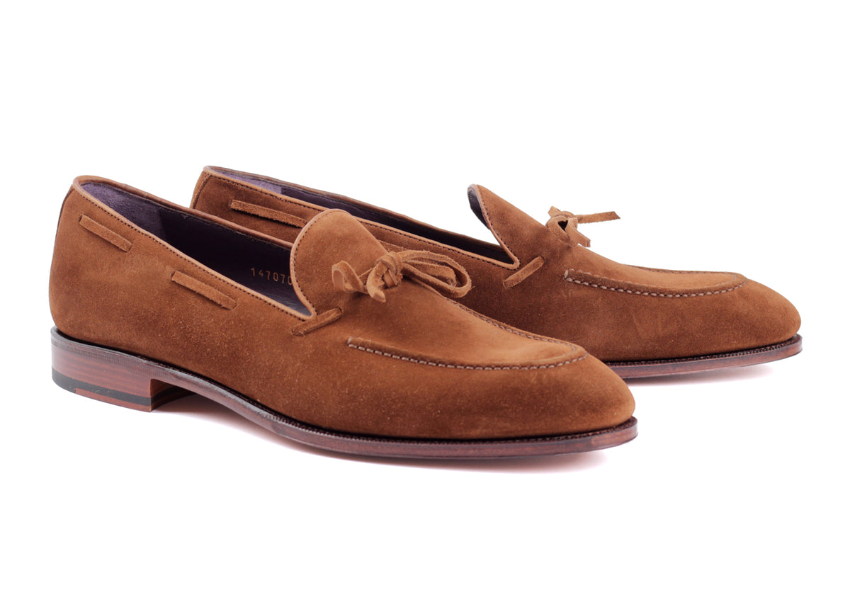 80228 - String Loafer - Snuff Suede