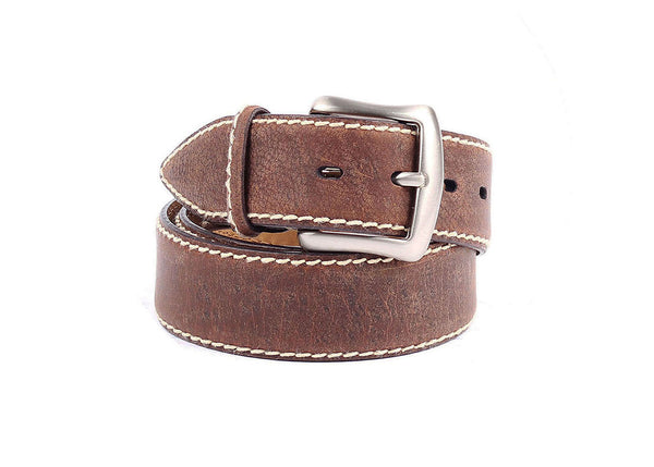 Kudu Leather Belt - Brown