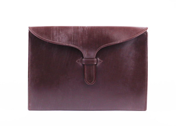 Tongue Folio - M - Dark Brown
