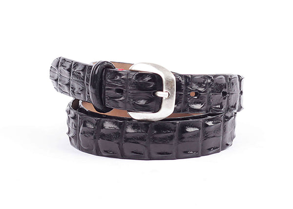 Signora Crocodille 3D Leather Belt