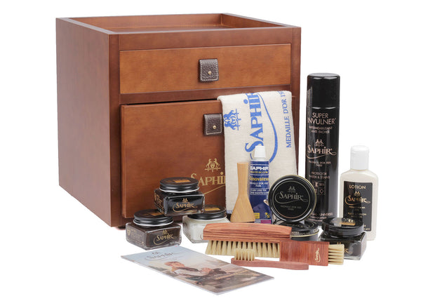 Medaille D'or Shoe Polish Box - Filled