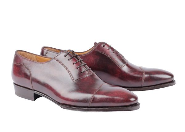 3986 - Diamond Cap Toe - Plum Museum
