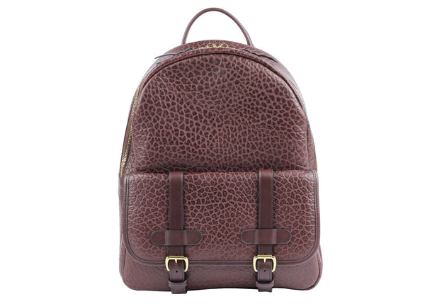 HAMPTON ZIPPER BACKPACK - Shrunken Chocolate