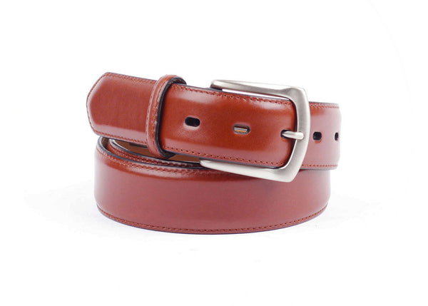 French Calf Leather Belt - Mexicana